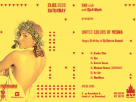 ЦАО клуб и компания Djsatwork PRESENTS Party ПОНАЕХАЛИ или united colors of Vesna